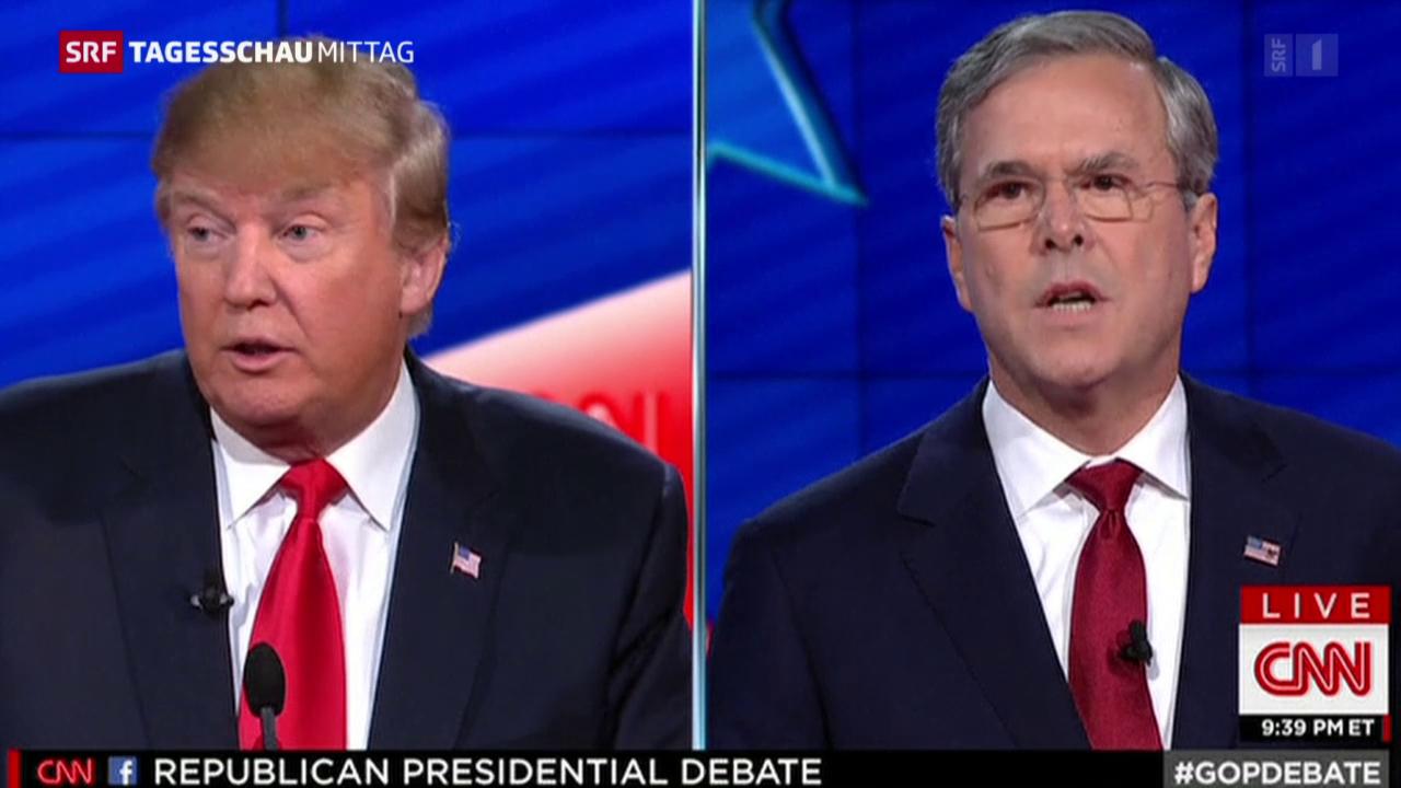 US-Präsidentschaft: letzte TV-Debatte