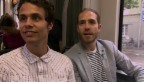 Video «Regnerisches Heimspiel für zwei Berner «Giele»» abspielen