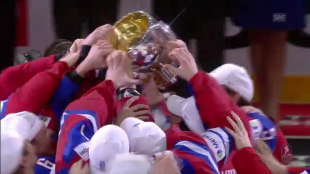Rückblick: Gold für Russland an WM 2012