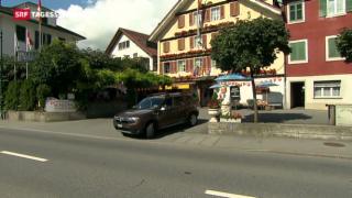 Video «Bund eröffnet Asylunterkunft in Obwalden» abspielen