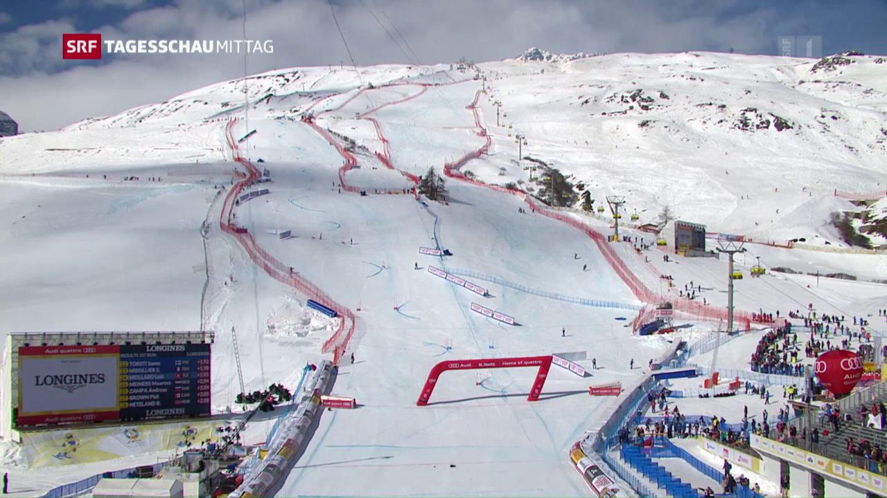 Flug-Zwischenfall in St. Moritz