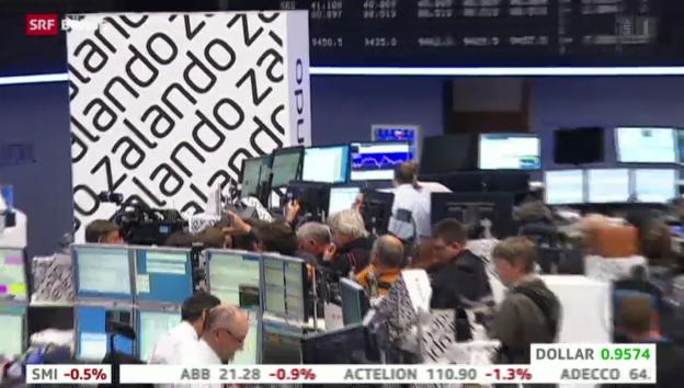 Video «SRF Börse vom 01.10.2014» abspielen