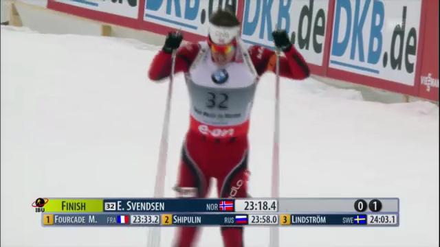 Biathlon-WM: Sprint Männer