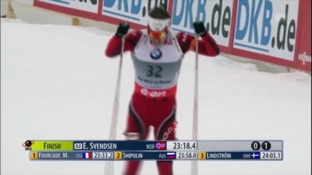 Video «Biathlon-WM: Sprint Männer» abspielen