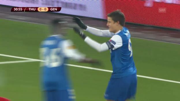 Video «Thun-Genk («sportlive», 12.12.2013)» abspielen