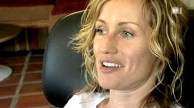 Zu Hause bei Stuntfrau Simone Bargetze