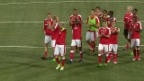 Video «Beim 1:0 über Weissrussland zaubert für die Schweiz nur Shaqiri» abspielen