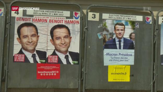 Video «Frankreich vor der Wahl» abspielen