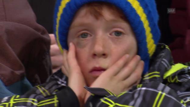 Video «Eishockey: Spengler Cup, Halbfinal Davos - ZSKA Moskau» abspielen