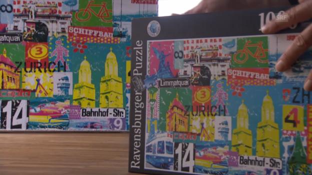 Video «Marion Duschletta über die Vermarktung ihrer Kunst» abspielen