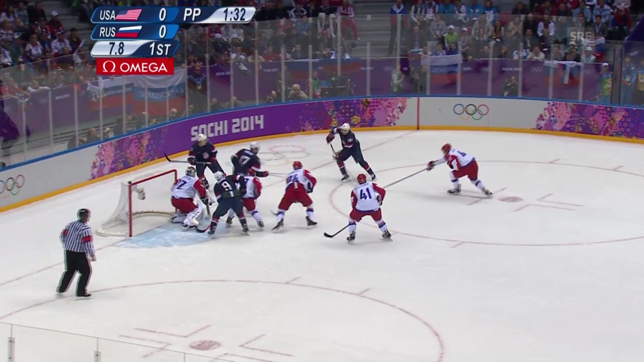 Eishockey: USA - Russland (sotschi aktuell, 15.02.2014)