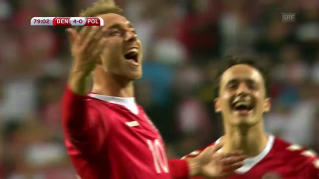 Video «Dänemark schiesst Polen ab» abspielen