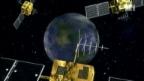 Video «Weltraumschrott auf Crashkurs» abspielen