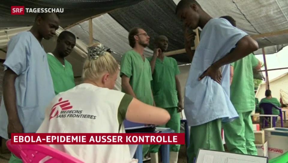 Ebola-Epidemie ausser Kontrolle