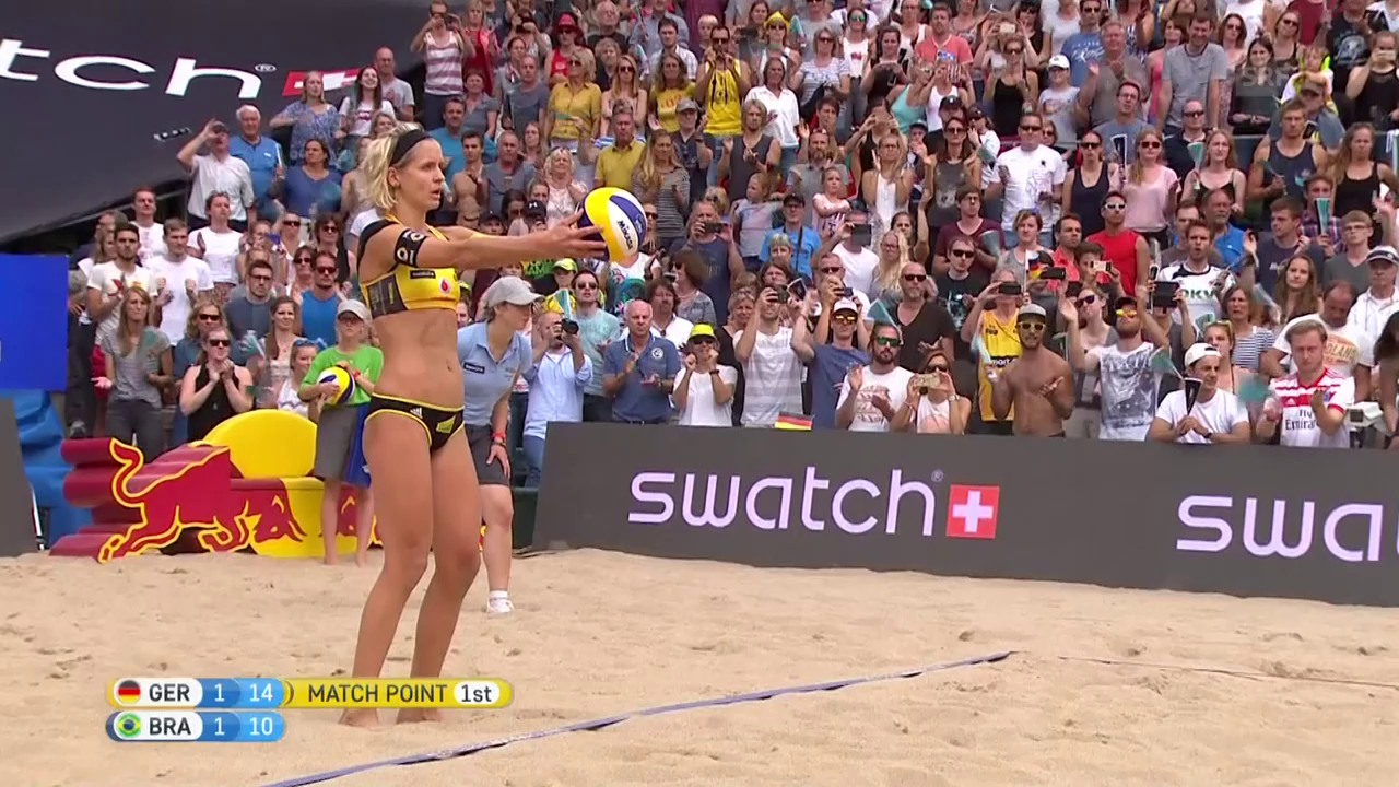 Ludwig/Walkenhorst: Der Matchball zum Hamburg-Triumph (SNTV)