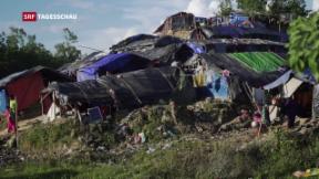 Video «Dramatische Zustände in Flüchtlingslagern in Bangladesch» abspielen