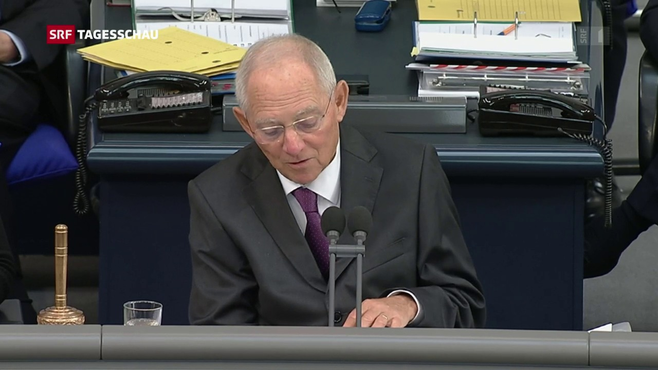 Schäuble ist neuer Bundestagspräsident