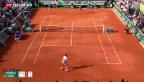 Video «Wawrinka schlägt Federer» abspielen