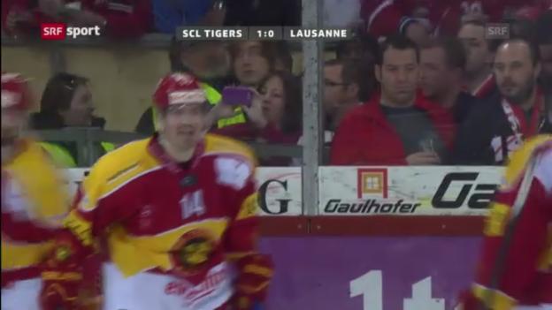 Video «Jacquemets letztes Tor für die Tigers» abspielen