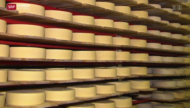 Video «Appenzeller Käse reagiert auf Frankenstärke» abspielen