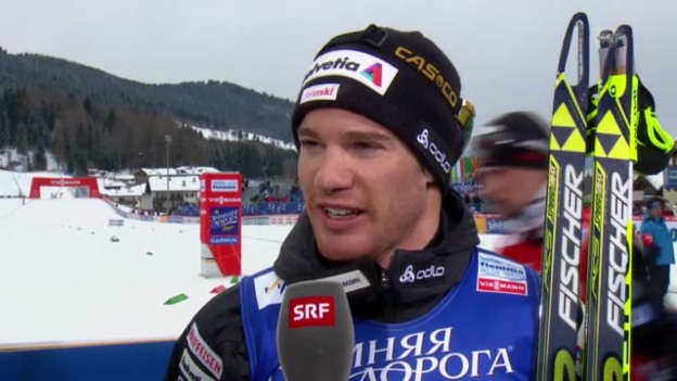 Video «Interview Dario Cologna («sportlive»)» abspielen