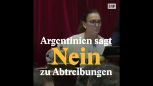 Video «In Argentinien bleiben Abtreibungen verboten» abspielen