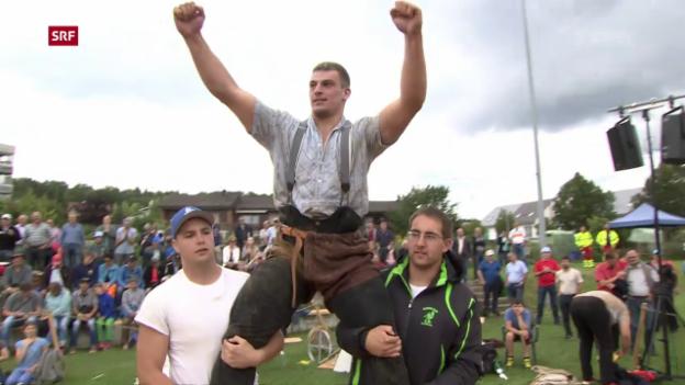 Video «Giger triumphiert am Schaffhauser Kantonalfest» abspielen
