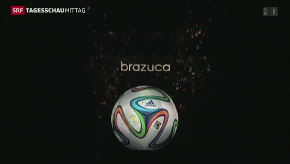 Brazuca – der WM-Ball für Brasilien