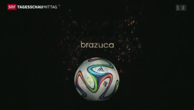 Video «Brazuca – der WM-Ball für Brasilien» abspielen