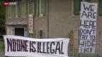 Video «Flüchtlinge besetzen Schule» abspielen