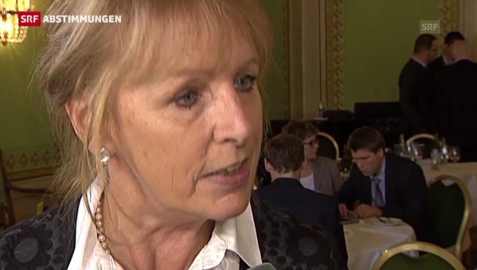 Eine weitere Liberalisierung ist für Ursula Haller kein Thema