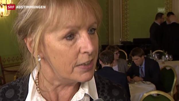 Video «Eine weitere Liberalisierung ist für Ursula Haller kein Thema» abspielen