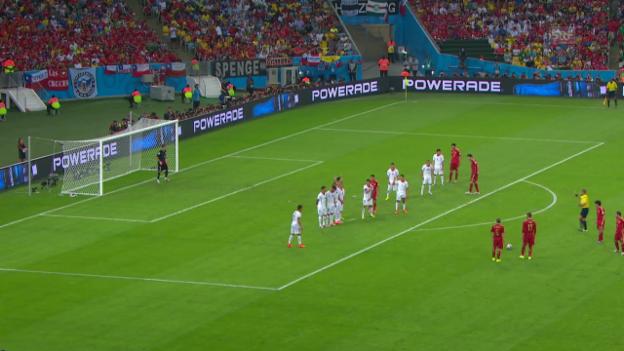 Video «Zusammenfassung Spanien - Chile» abspielen