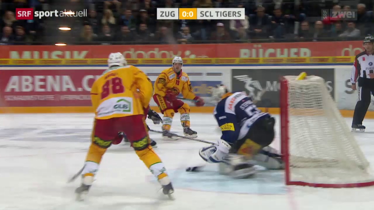 Eishockey: NLA, Zug - SCL Tigers