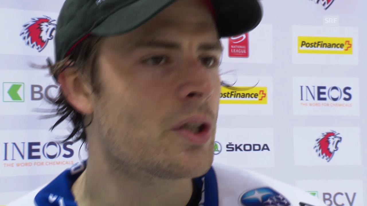 Eishockey: Interview mit Severin Blindenbacher («sportlive», 13.3.14)