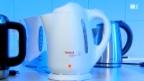 Video «Wasserkocher kochen nur mit Wasser» abspielen
