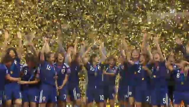Frauen-WM: Zusammenfassung Japan - USA