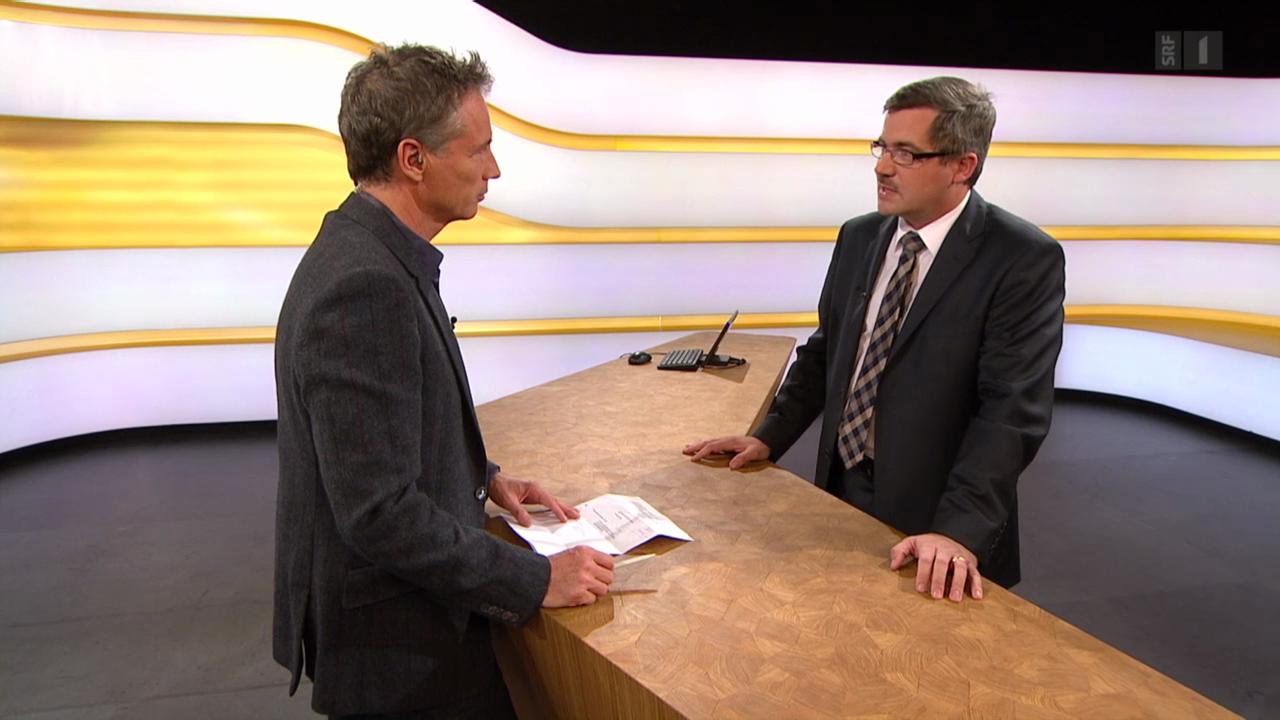 Studiogespräch mit Thomas Gächter, Rechtsprofessor Universität Zürich