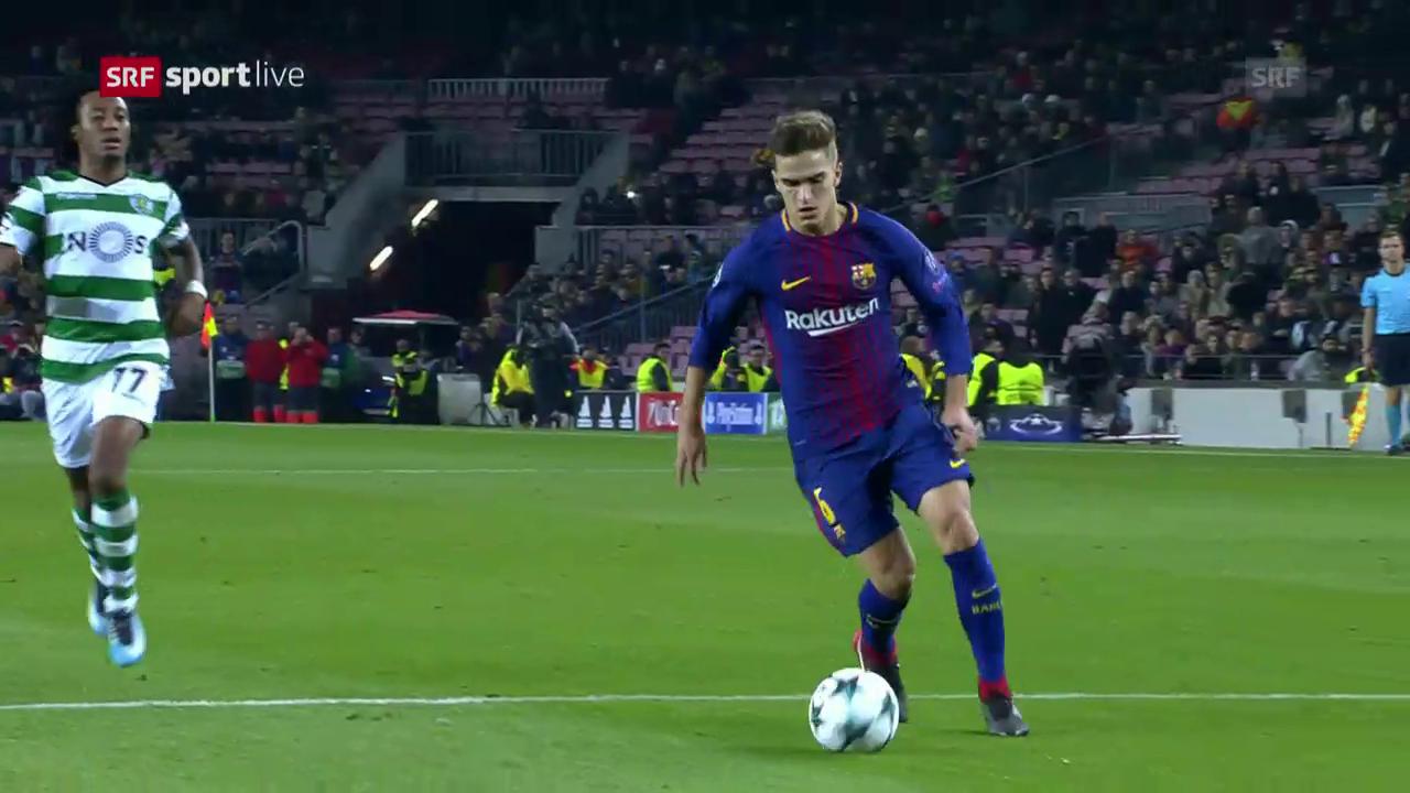 2:0-Sieg für Barcelona gegen Sporting