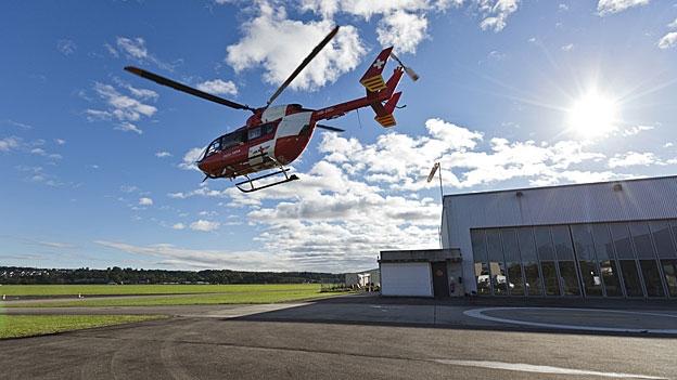Ideal wäre eine Zusammenarbeit der Rettungsfluganbieter, findet Martin Gappisch, Direktor Interverband Rettungswesen