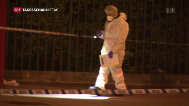 Video «Eine Tote und fünf Verletzte nach Messerattacke in London» abspielen