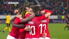 Link öffnet eine Lightbox. Video Schweiz-Belgien: Ein Spiel, 7 Tore abspielen