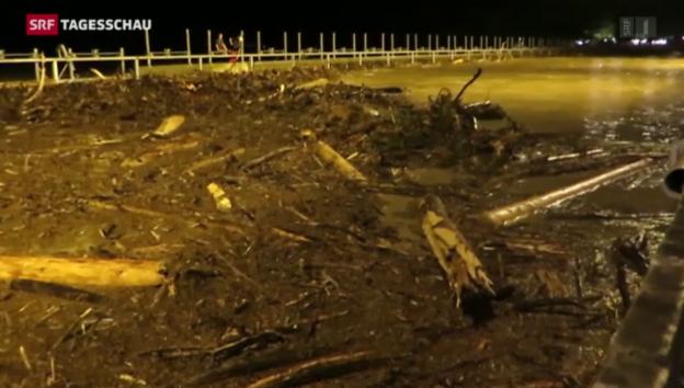 Video «Zwei Tote und Unwetterschäden in Millionenhöhe» abspielen