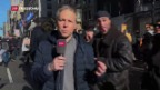 Video «Einschätzungen zu Anti-Trump-Demonstrationen von SRF-Korrespondent Thomas von Grünigen.» abspielen