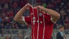Video «Franck Ribérys Trikotwurf nach der Auswechslung» abspielen