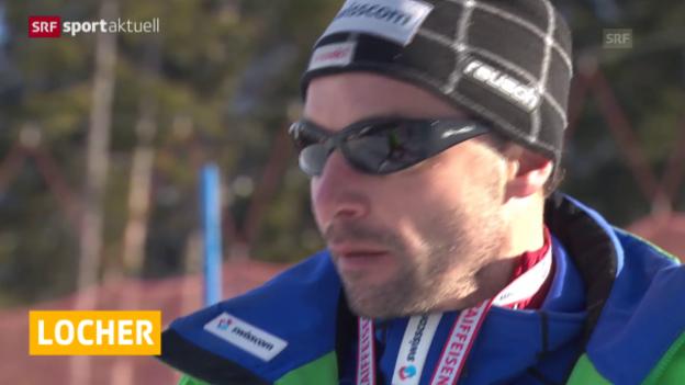 Video «Ski alpin: Swiss-Ski trennt sich von Trainer Steve Locher («sportaktuell»)» abspielen