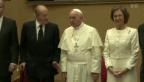 Video «Audienz: König Juan Carlos und Königin Sofia beim Papst» abspielen