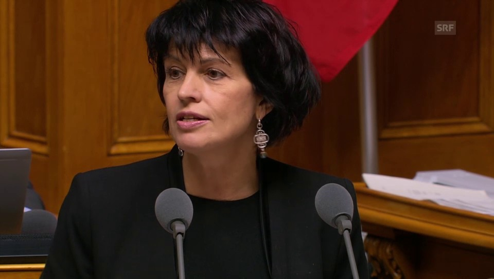 Bundesrätin Leuthard: Neuer Politumgang?
