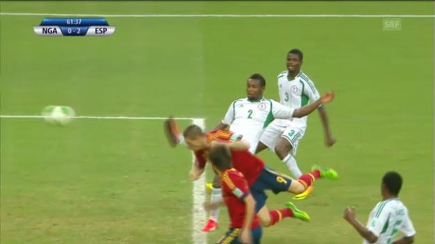 Video «Confed Cup: Nigeria - Spanien («sportlive»)» abspielen