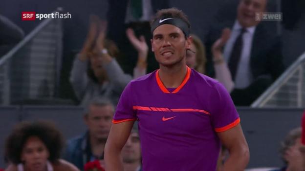 Video «Nadal ist auf Sand weiter nicht zu stoppen» abspielen